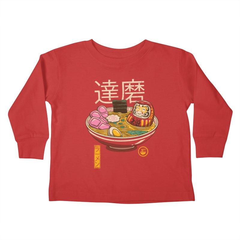 Zen Ramen Kids Toddler Longsleeve T-Shirt by vincenttrinidad's Artist Shop