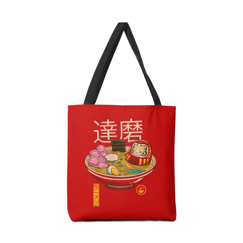 Zen Ramen Accessories Bag by vincenttrinidad's Artist Shop