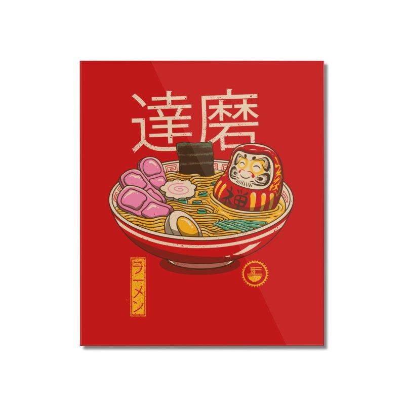 Zen Ramen Home Mounted Acrylic Print by vincenttrinidad's Artist Shop