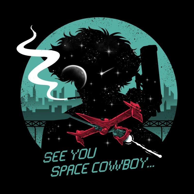 Space Cowboy Accessories Magnet by Vincent Trinidad Art