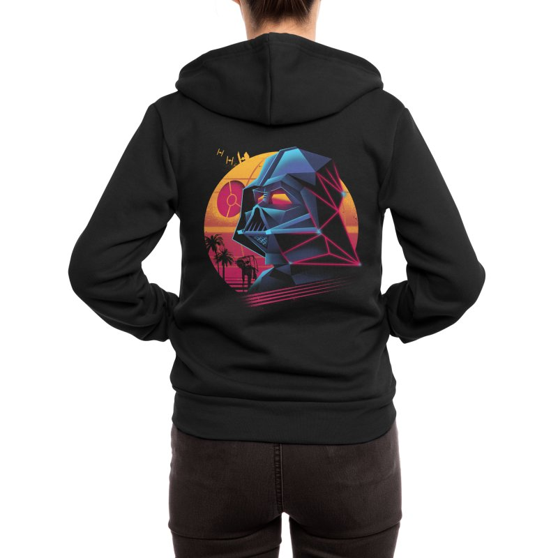 Rad Lord Women's Zip-Up Hoody by Vincent Trinidad Art