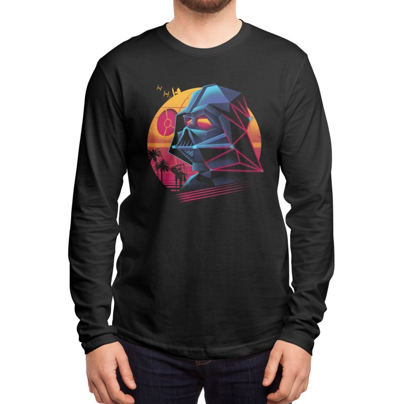Rad Lord Men's Longsleeve T-Shirt by Vincent Trinidad Art