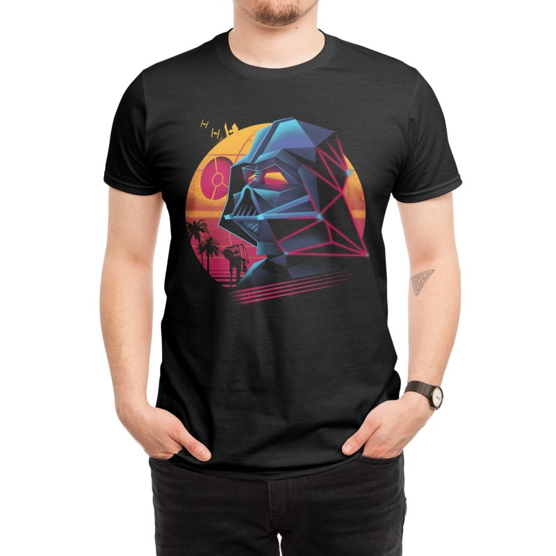 Rad Lord Men's T-Shirt by Vincent Trinidad Art