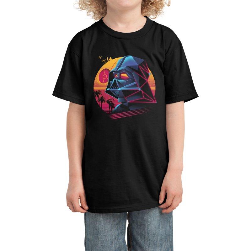 Rad Lord Kids T-Shirt by Vincent Trinidad Art