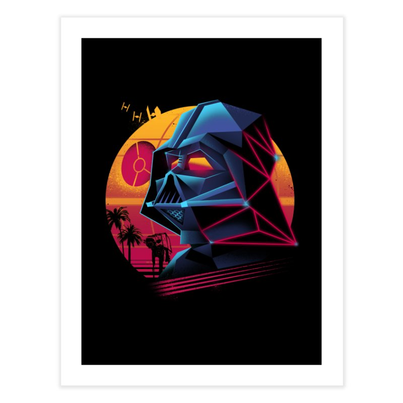 Rad Lord Home Fine Art Print by Vincent Trinidad Art