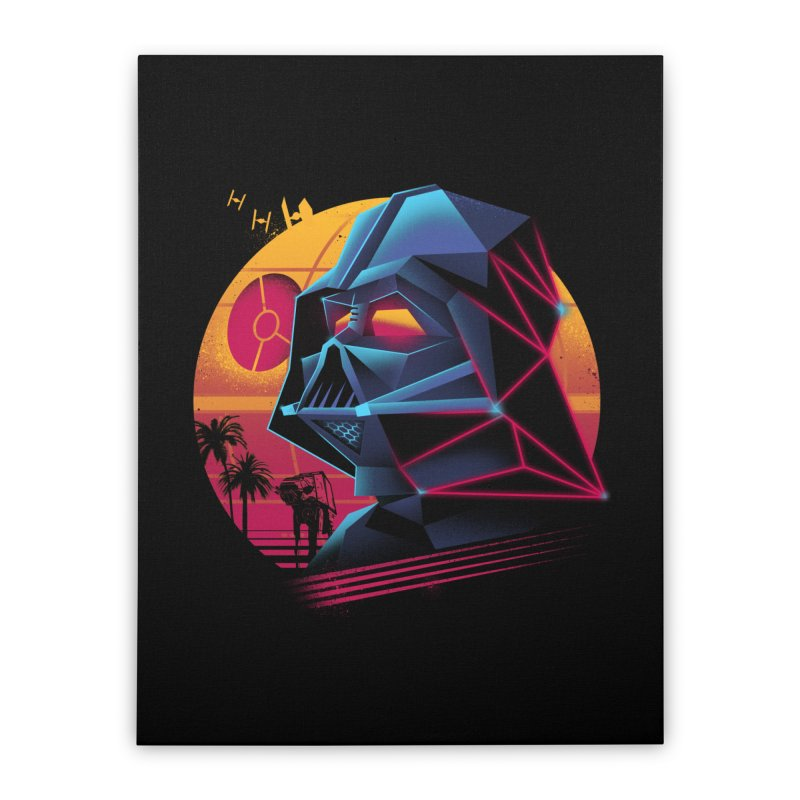 Rad Lord Home Stretched Canvas by Vincent Trinidad Art