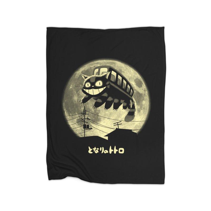 Cat Jump Home Blanket by vincenttrinidad's Artist Shop