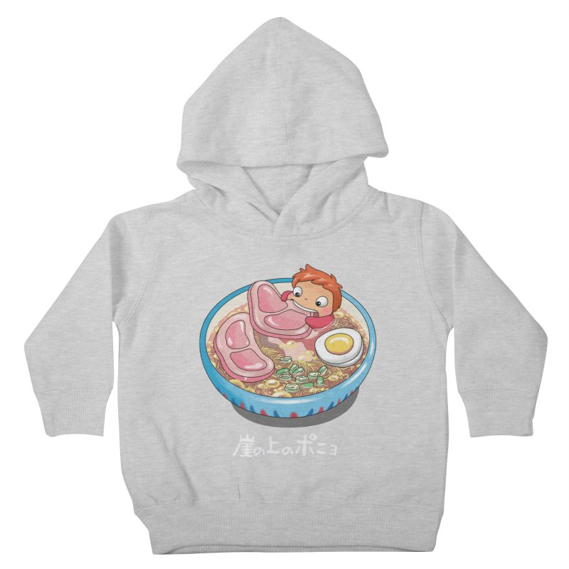 Noodle Swim Kids Toddler Pullover Hoody by Vincent Trinidad Art
