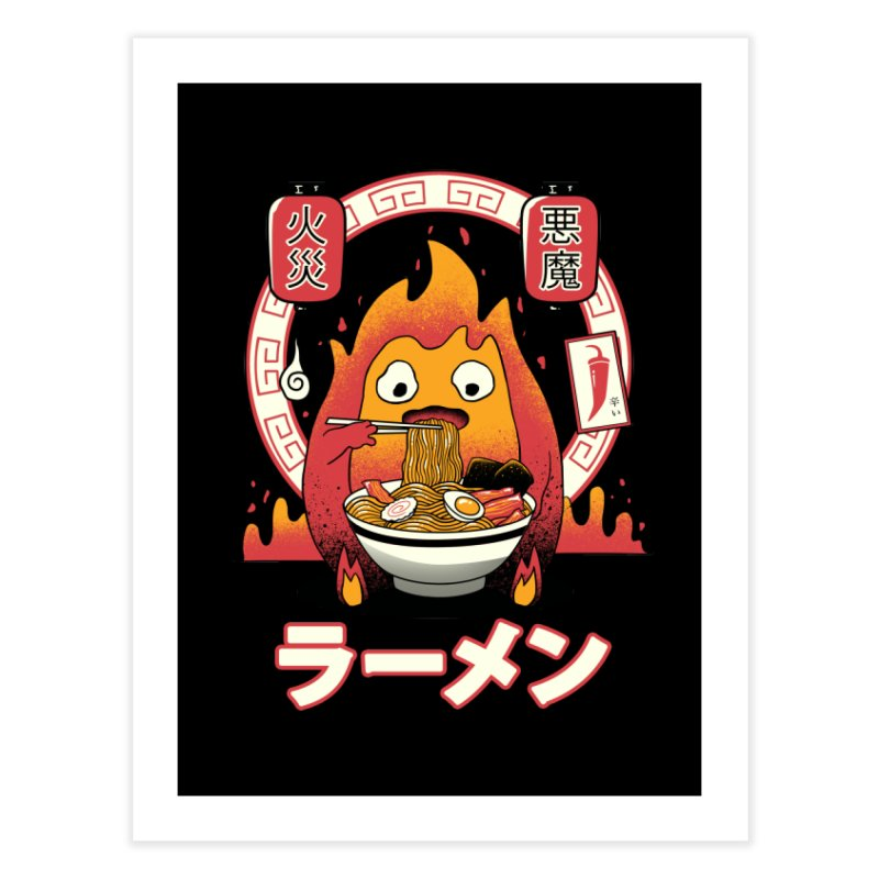 Fire Demon Ramen Home Bath Mat by vincenttrinidad's Artist Shop
