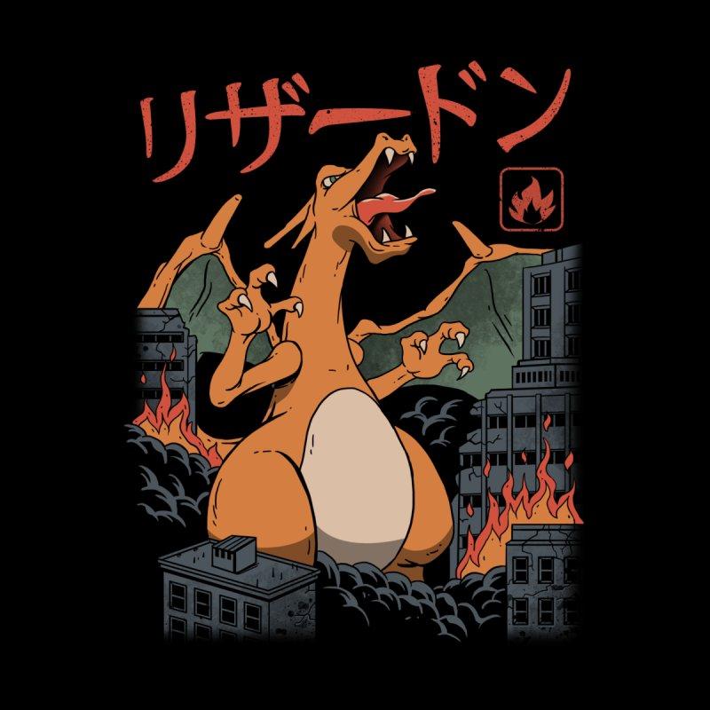 Fire Kaiju Home Duvet by vincenttrinidad's Artist Shop
