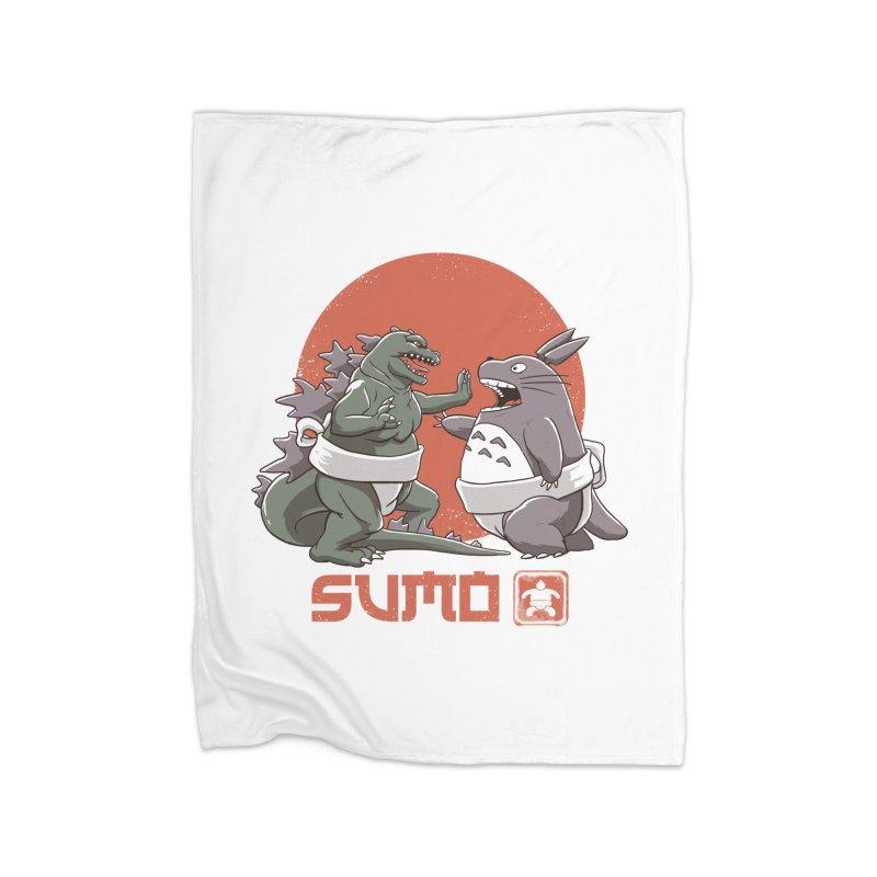 Sumo Pop Home Blanket by vincenttrinidad's Artist Shop