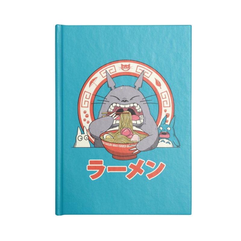 The Neighbor's Ramen Accessories Notebook by vincenttrinidad's Artist Shop