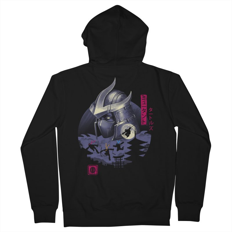 Turtles in Japan Women's French Terry Zip-Up Hoody by vincenttrinidad's Artist Shop