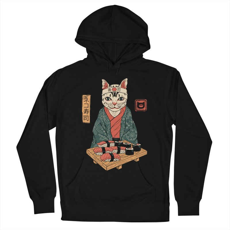 Neko Sushi Bar Men's French Terry Pullover Hoody by vincenttrinidad's Artist Shop