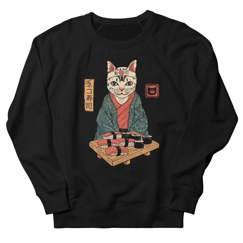 Neko Sushi Bar Men's French Terry Sweatshirt by vincenttrinidad's Artist Shop