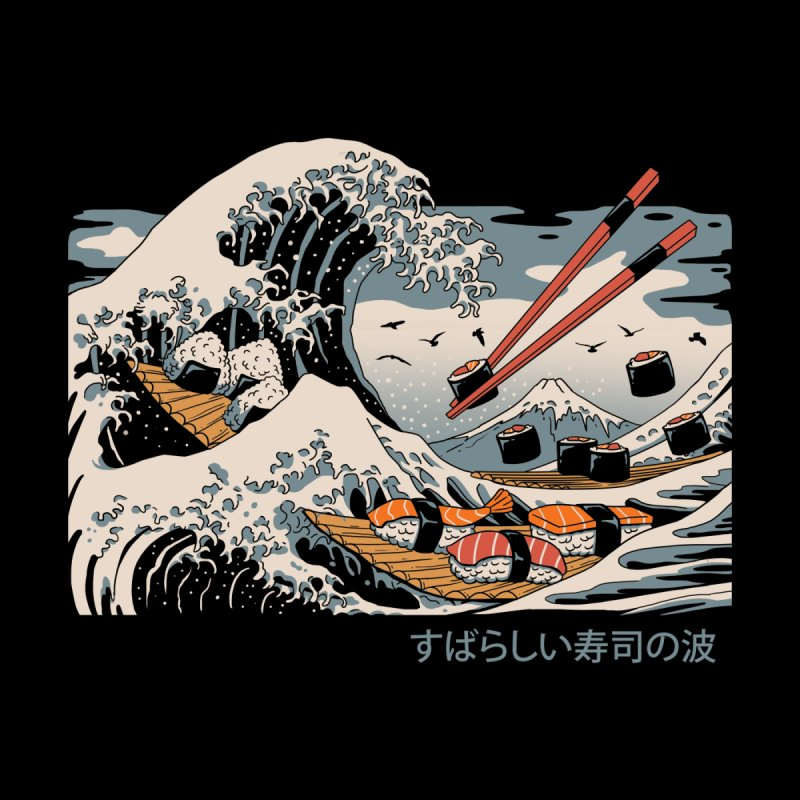 The Great Sushi Wave by Vincent Trinidad Art