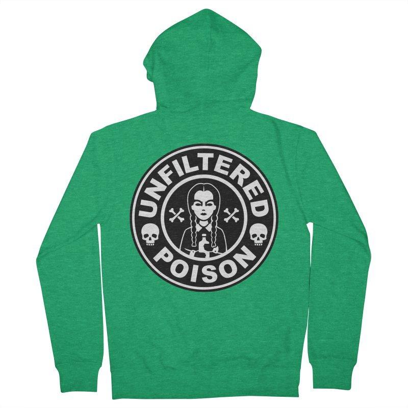 Freshly Brewed Poison Women's French Terry Zip-Up Hoody by vincenttrinidad's Artist Shop