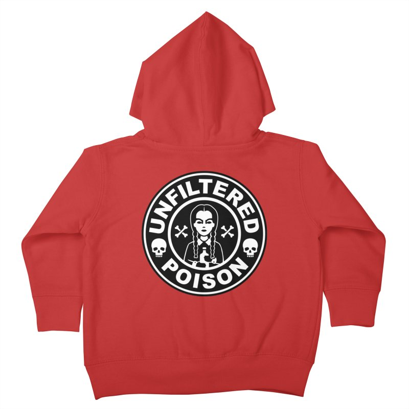 Freshly Brewed Poison Kids Toddler Zip-Up Hoody by vincenttrinidad's Artist Shop