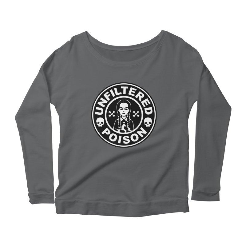 Freshly Brewed Poison Women's Scoop Neck Longsleeve T-Shirt by vincenttrinidad's Artist Shop