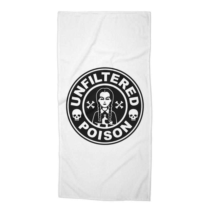 Freshly Brewed Poison Accessories Beach Towel by vincenttrinidad's Artist Shop