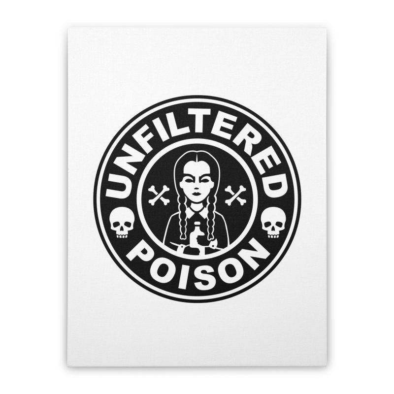Freshly Brewed Poison Home Stretched Canvas by vincenttrinidad's Artist Shop