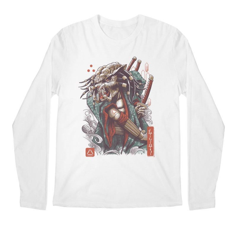 Samurai Predator Men's Regular Longsleeve T-Shirt by vincenttrinidad's Artist Shop