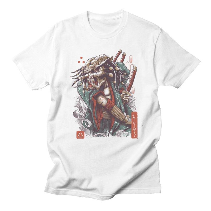 Samurai Predator Men's Regular T-Shirt by vincenttrinidad's Artist Shop