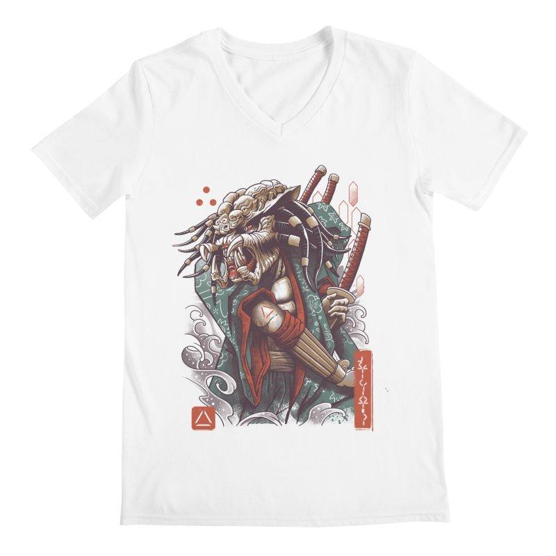 Samurai Predator Men's Regular V-Neck by vincenttrinidad's Artist Shop