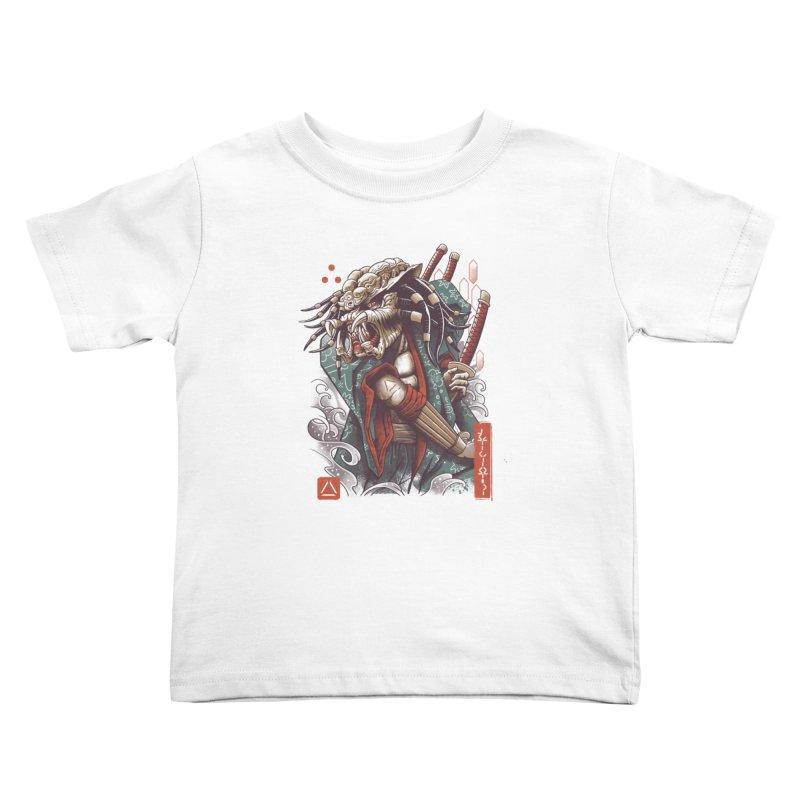 Samurai Predator Kids Toddler T-Shirt by vincenttrinidad's Artist Shop