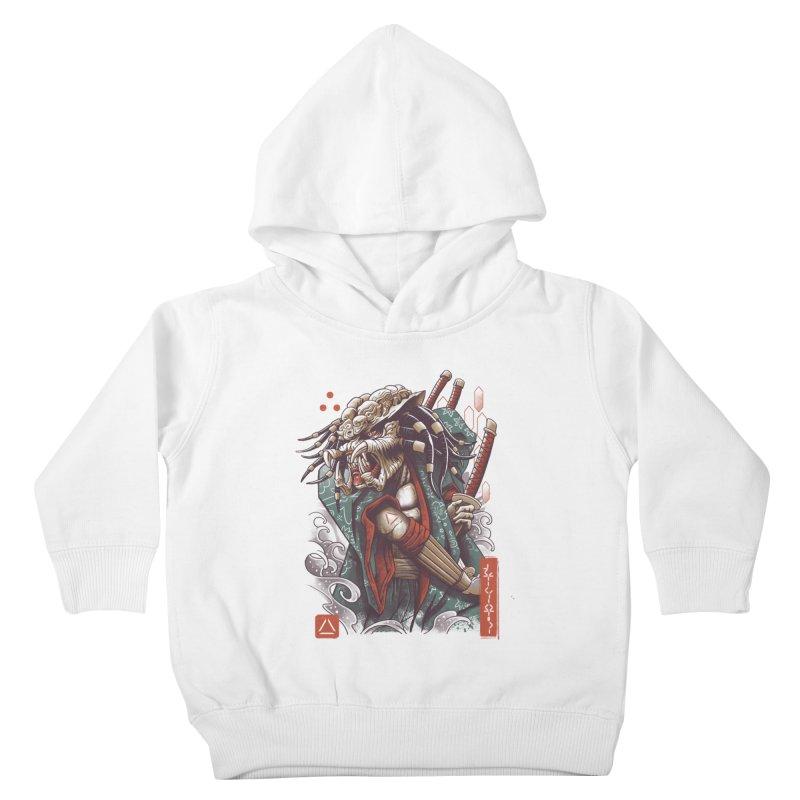 Samurai Predator Kids Toddler Pullover Hoody by vincenttrinidad's Artist Shop