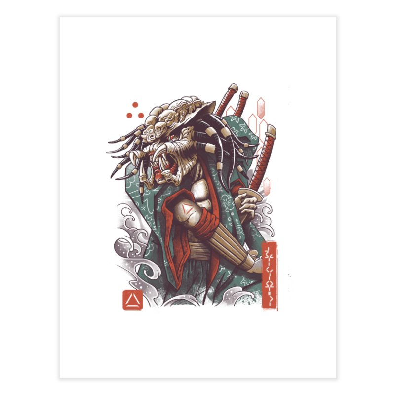 Samurai Predator Home Bath Mat by vincenttrinidad's Artist Shop