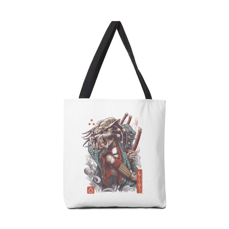 Samurai Predator Accessories Bag by vincenttrinidad's Artist Shop