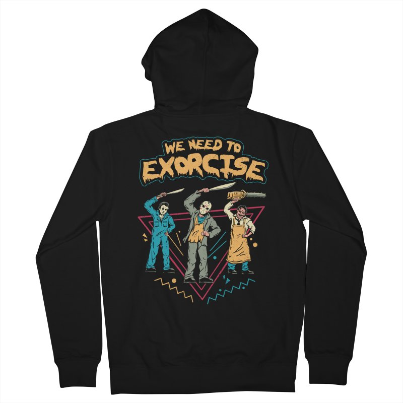 Let's Exorcise! Men's French Terry Zip-Up Hoody by vincenttrinidad's Artist Shop