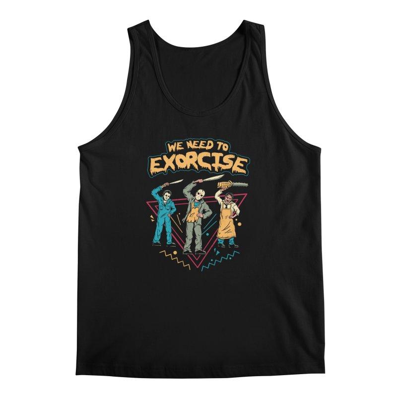 Let's Exorcise! Men's Regular Tank by vincenttrinidad's Artist Shop