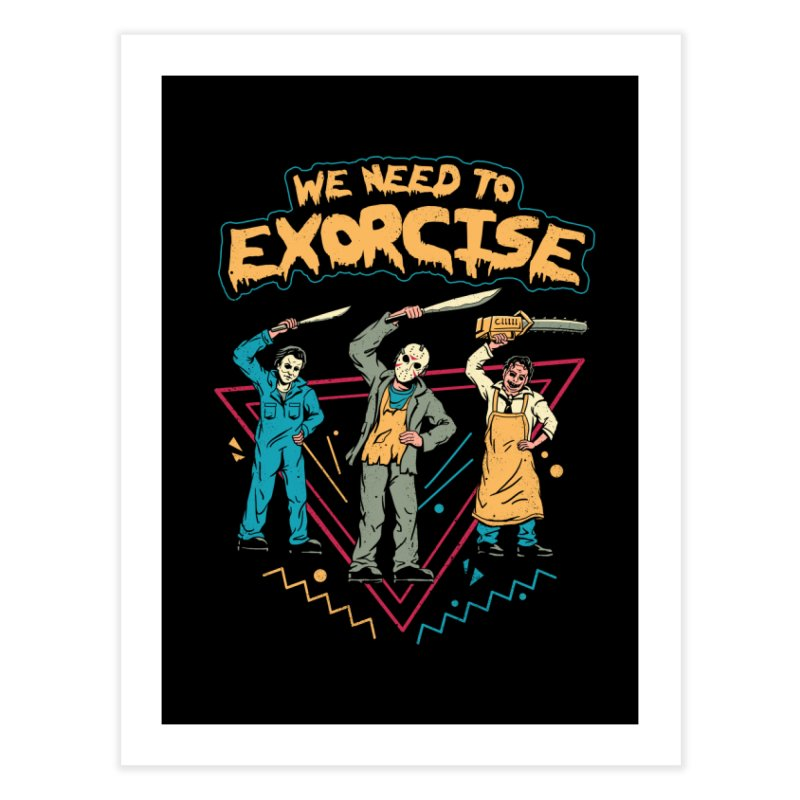 Let's Exorcise! Home Bath Mat by vincenttrinidad's Artist Shop