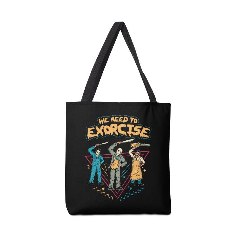 Let's Exorcise! Accessories Bag by vincenttrinidad's Artist Shop