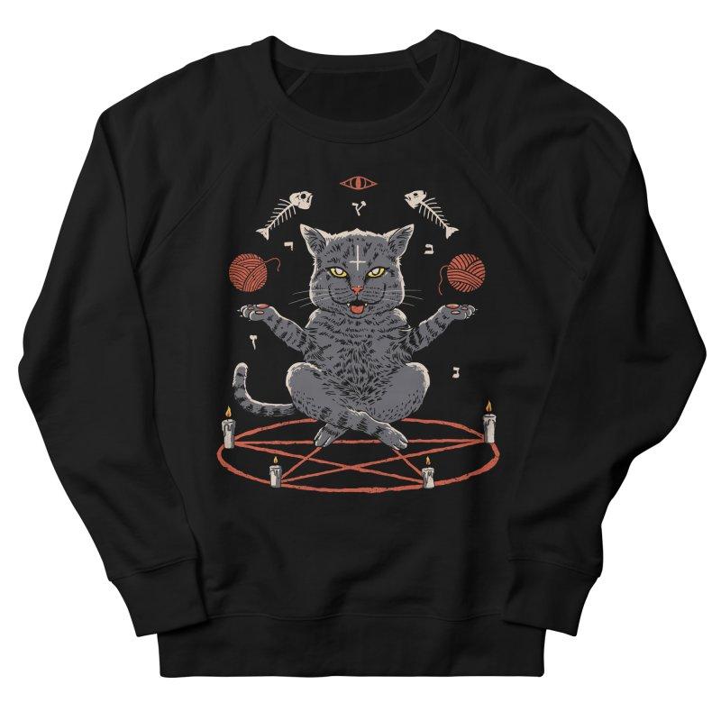 Devious Cat Women's French Terry Sweatshirt by vincenttrinidad's Artist Shop