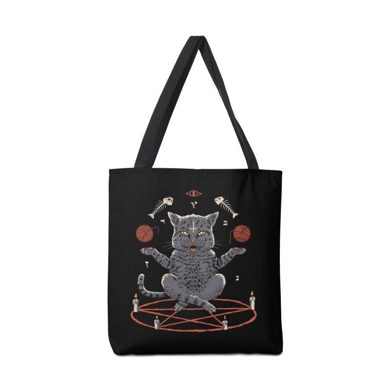 Devious Cat Accessories Bag by vincenttrinidad's Artist Shop