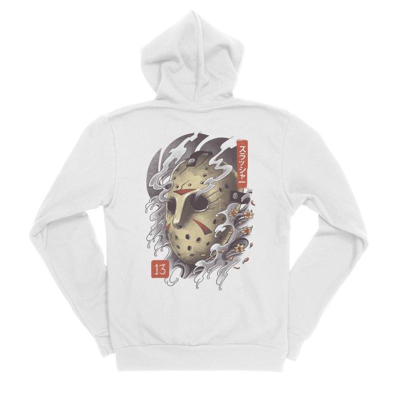 Oni Jason Mask Men's Sponge Fleece Zip-Up Hoody by vincenttrinidad's Artist Shop