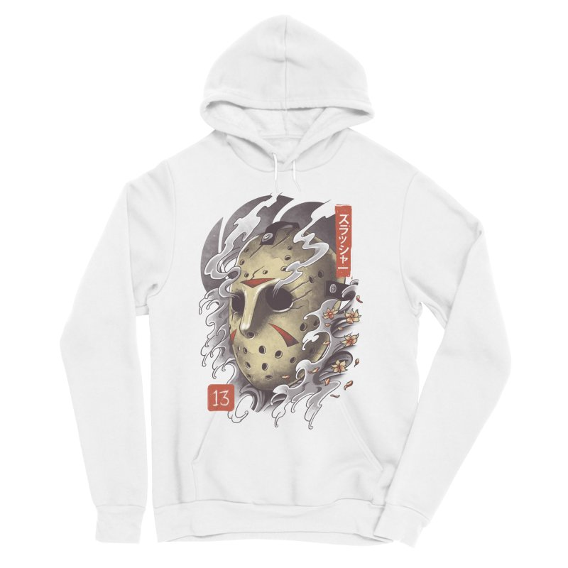 Oni Jason Mask Women's Sponge Fleece Pullover Hoody by vincenttrinidad's Artist Shop