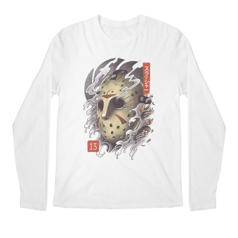 Oni Jason Mask Men's Regular Longsleeve T-Shirt by vincenttrinidad's Artist Shop