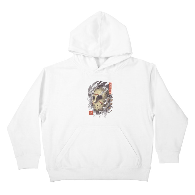Oni Jason Mask Kids Pullover Hoody by vincenttrinidad's Artist Shop
