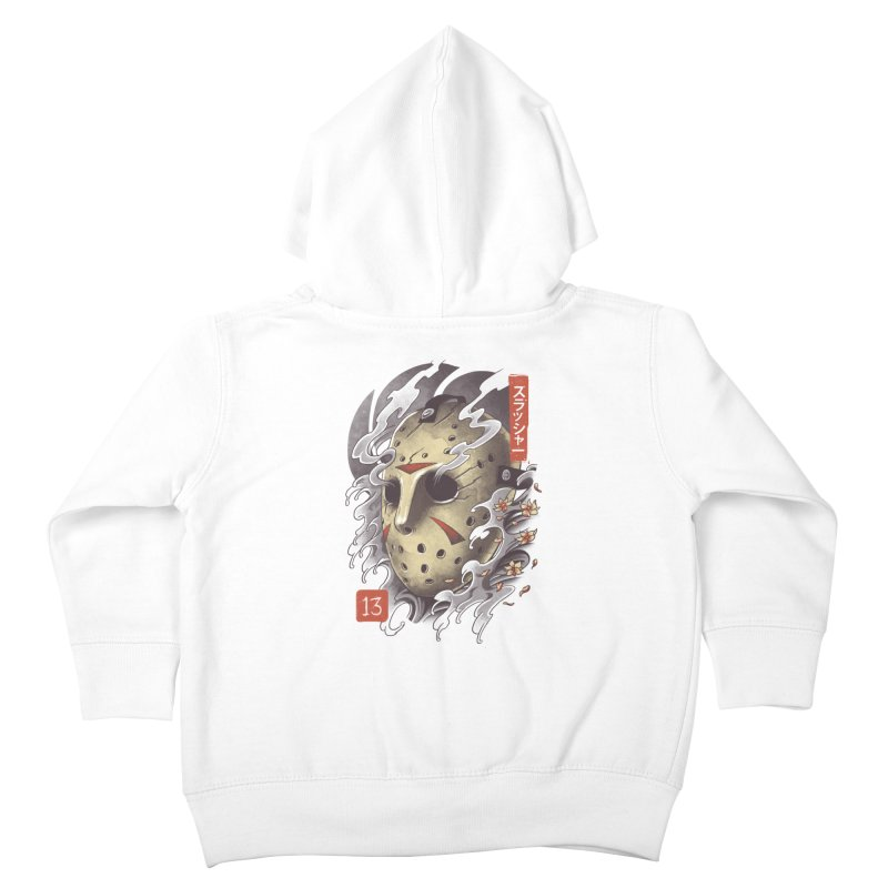 Oni Jason Mask Kids Toddler Zip-Up Hoody by vincenttrinidad's Artist Shop