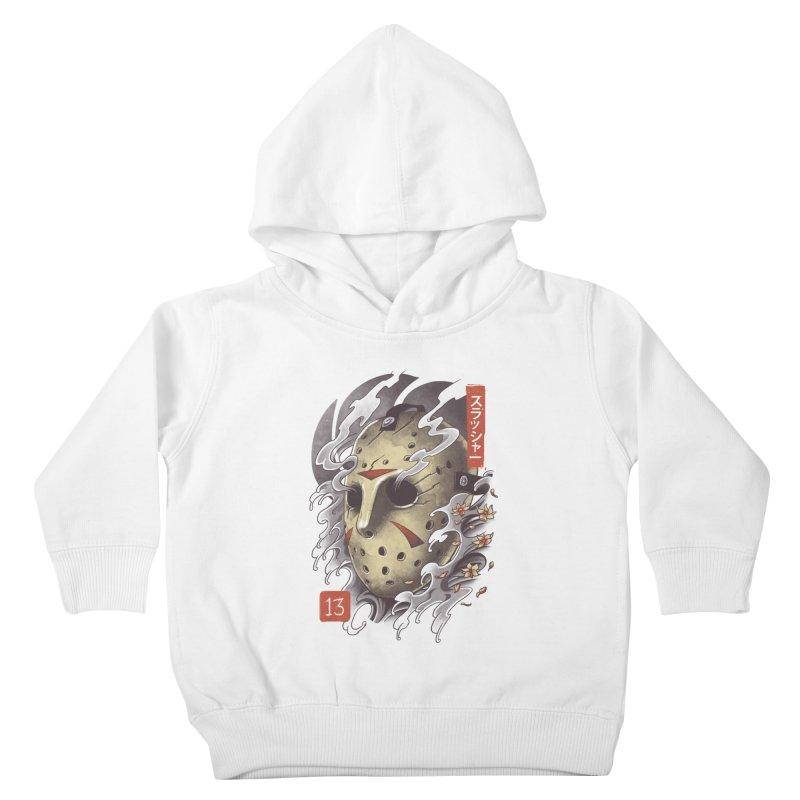 Oni Jason Mask Kids Toddler Pullover Hoody by vincenttrinidad's Artist Shop