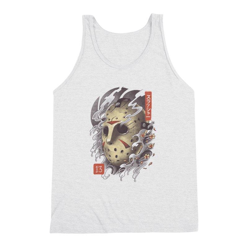 Oni Jason Mask Men's Triblend Tank by vincenttrinidad's Artist Shop