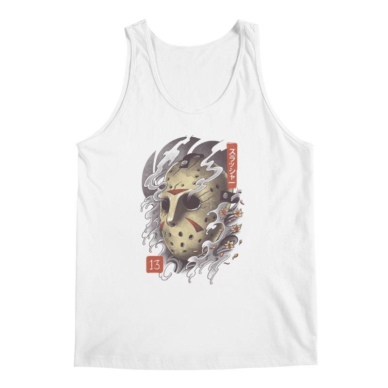 Oni Jason Mask Men's Regular Tank by vincenttrinidad's Artist Shop