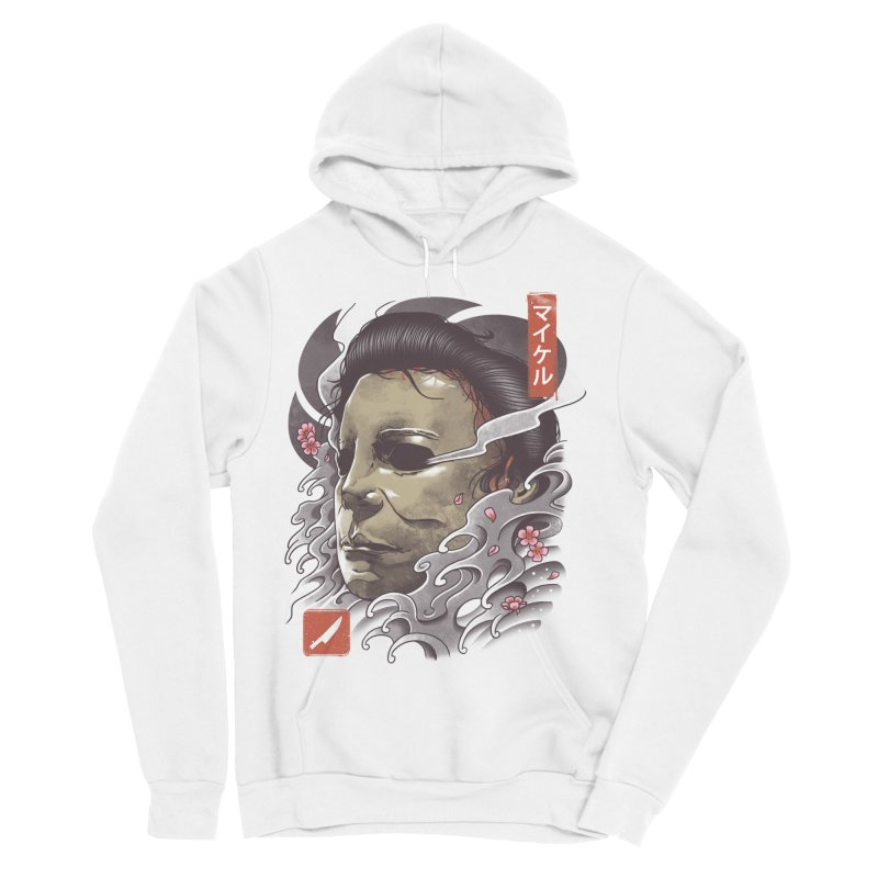 Oni Slasher Mask Women's Sponge Fleece Pullover Hoody by vincenttrinidad's Artist Shop