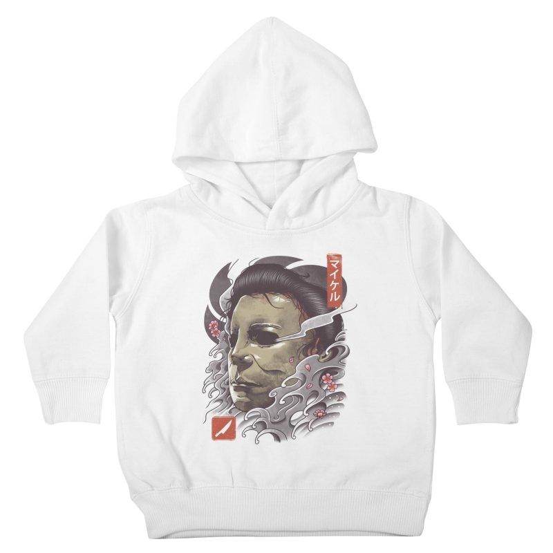 Oni Slasher Mask Kids Toddler Pullover Hoody by vincenttrinidad's Artist Shop