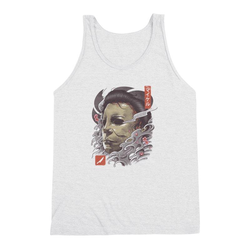 Oni Slasher Mask Men's Triblend Tank by vincenttrinidad's Artist Shop