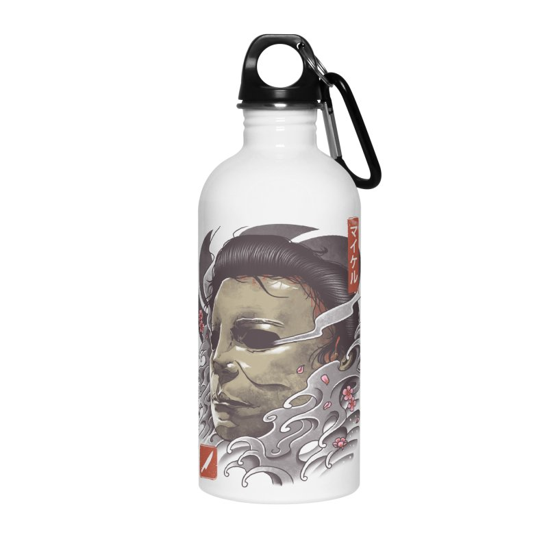 Oni Slasher Mask Accessories Water Bottle by vincenttrinidad's Artist Shop